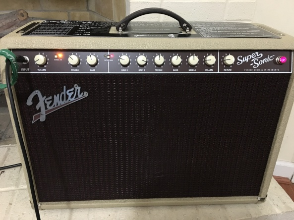 Fender Super Sonic 22 guitar amp