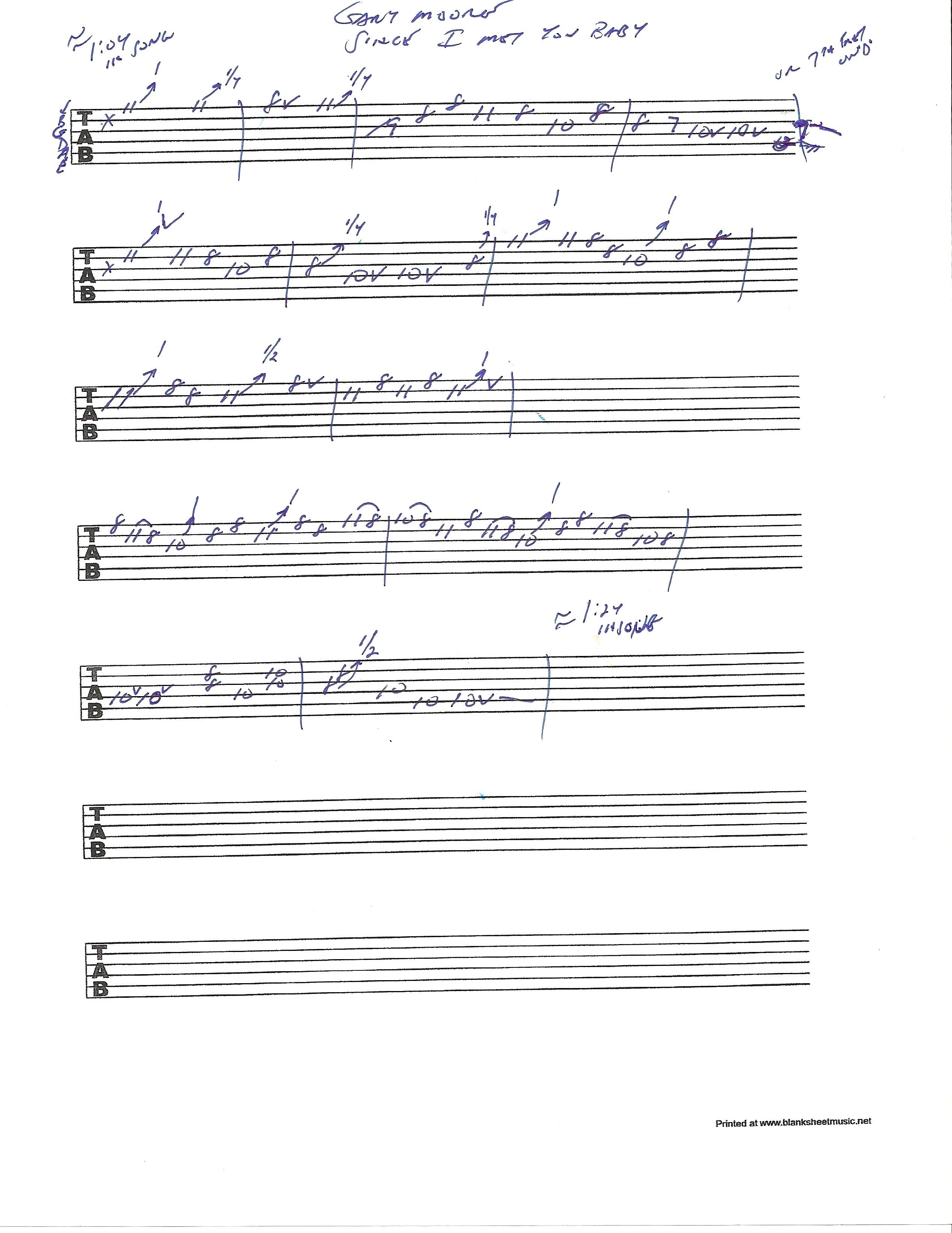 12 bar blues solo lesson | Rick McCargar's Guitar Licks