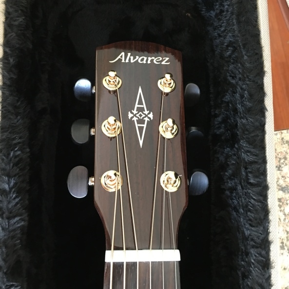 Alvarez Masterworks MDA70CE head stock